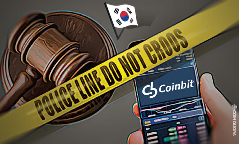 Coinbit Seized for $84M in Wash Trade Allegations