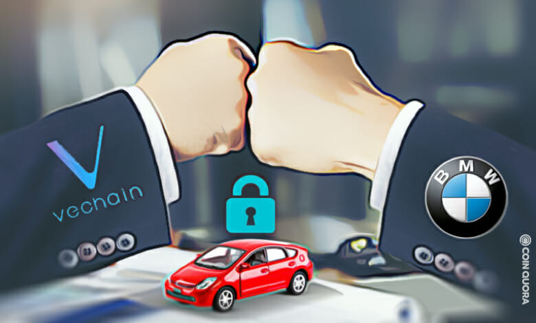 VeChain and BMW's VerifyCar DApp Puts First Data Protection