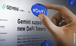 Gemini Expands Trading and Custody Services on DeFi Tokens
