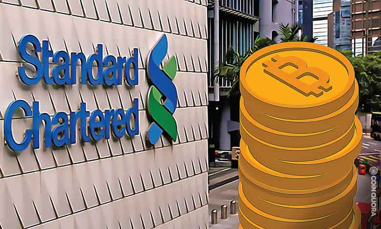 Standard Chartered Bank Launches Crypto Custody Service