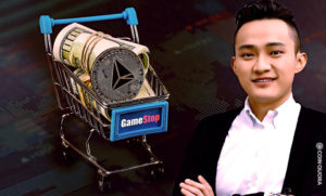 TRON CEO Justin Sun Set to Buy $10M Worth of GameStop Stock