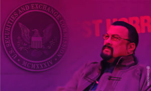 SEC Charges Three in Steven Seagal ICO Scam