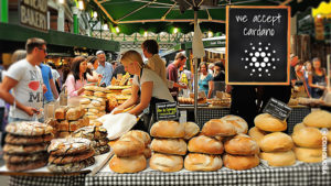 London Local Food Stall Now Accepts Cardano