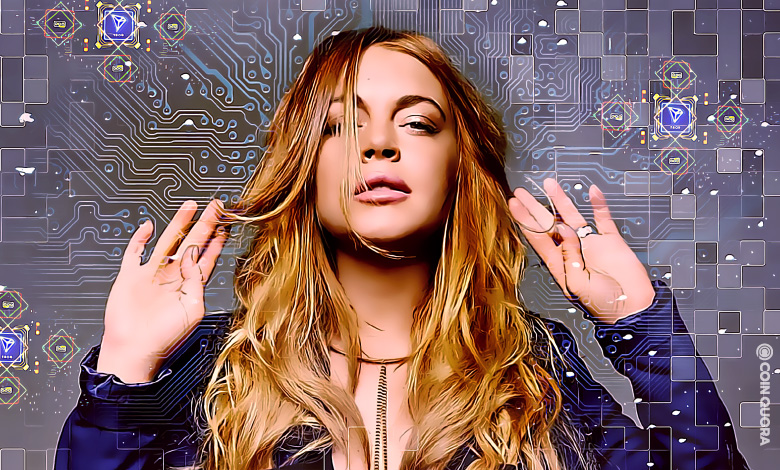 Actress Lindsay Lohan Launches New NFT on TRON-Based Marketplace