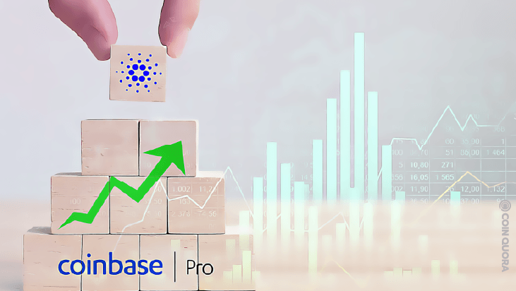 Cardano (ADA) Surges 20% After Coinbase Pro Support