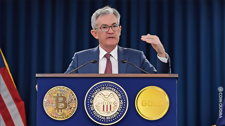 Fed Chairman Powell Says Bitcoin Is a Substitute for Gold