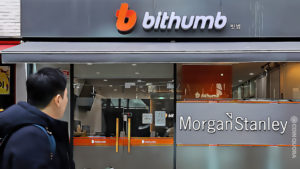 Morgan Stanley to Buy Stake in Bithumb Exchange for $440M