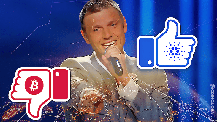 Nick Carter Says ADA Is Better For the World Than Bitcoin
