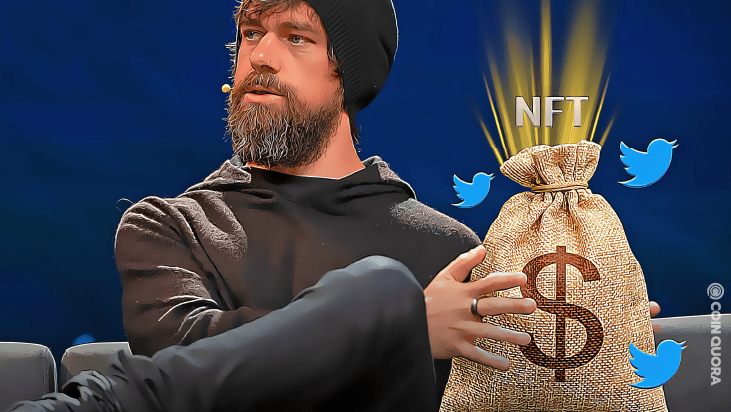 Twitter CEO Converts First Tweet to NFT, Sold at Over $2.9m