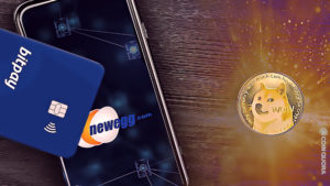 Computer Retail Firm Newegg Now Accepting DOGE for Payment