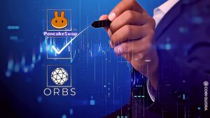 The ORBS Native Token Is Now Listing on PancakeSwap