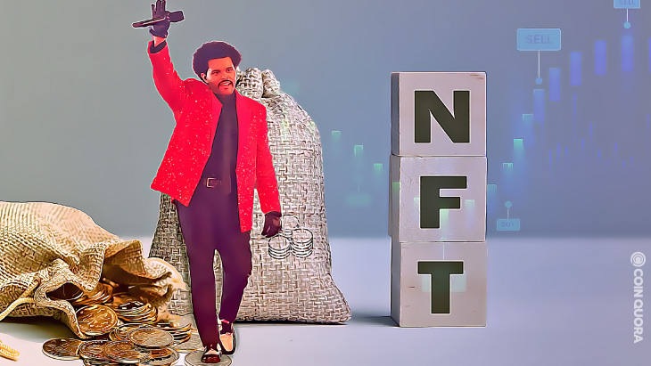 The-Weeknd-Raises-Over-$2-Million-in-First-NFT-Auction