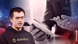 Binance CEO Reacts to Crypto Market Decline on Twitter