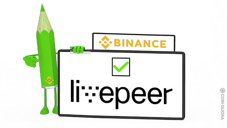 Binance to List Livepeer on Its Exchange Network - CoinQuora