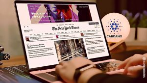 Cardano-Ethiopia Deal All Over New York Times Homepage