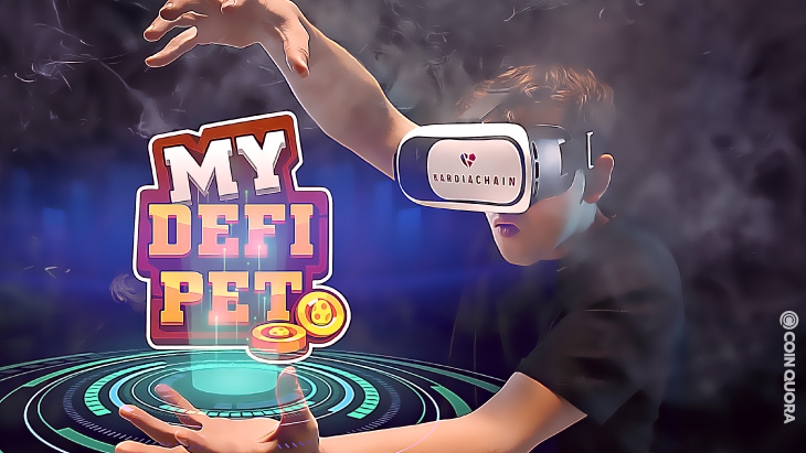 KardiaChain Launches NFT Gaming Project, My DeFi Pet