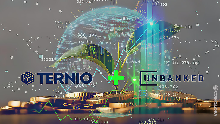 Ternio and BlockCard Merge to Form Unbanked