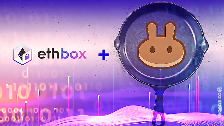 ethbox's EBOX Now Listed on PancakeSwap