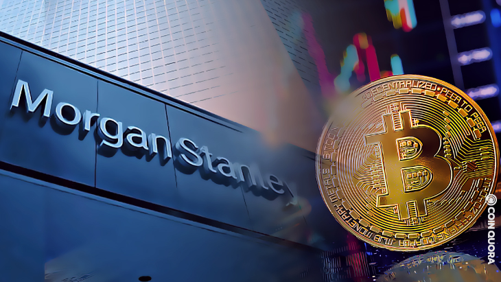A New Filing for Morgan Stanley To Give Its Clients Exposure to Bitcoin