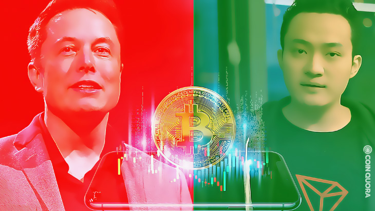 Elon Musk is Dumping Bitcoin, Justin Sun is Trying to Pump it