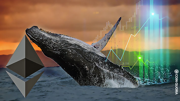 Ethereum Whales Are Holding ETH Accumulated Since Last Year