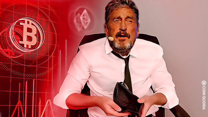 John McAfee Reflects Behind Bars, Laments Lost Fortune