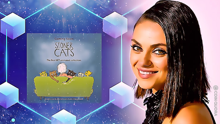 Mila Kunis Launches New NFT Series Called 'Stoner Cats'