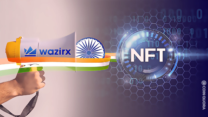 WazirX Launches India's First NFT Marketplace