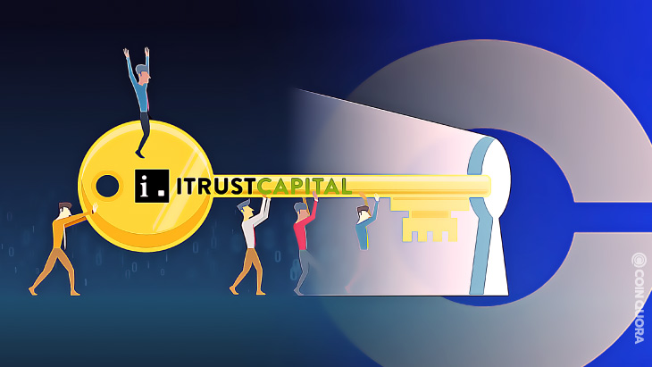 iTrustCapital Leverages Coinbase Custody to Fortify Fund Security