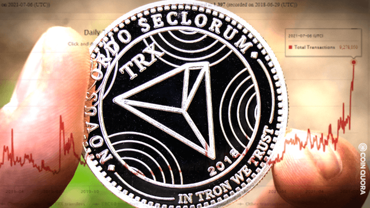10 Million Transactions per Day is Coming Soon on TRON