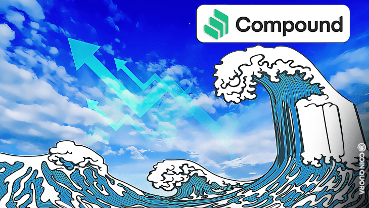 Compound (COMP) Surges Above 65% in the Past Week