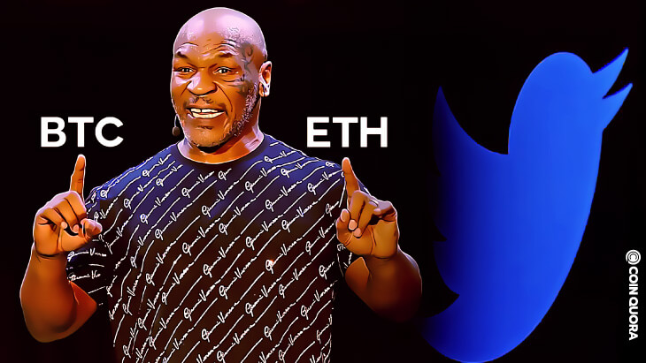 Mike Tyson Puts BTC and ETH in the Ring, Altcoins Appear