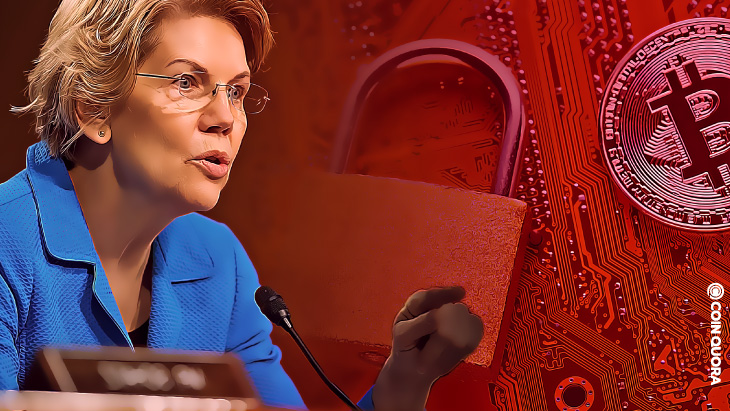 Senator Warren Urges US Government To Take Action Against Cryptos