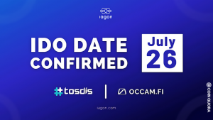 IAGON to Conduct Its Anticipated Initial DEX Offering on Tosdis.finance and Occam.fi