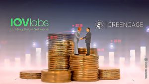 First Digital Merchant Bank Greengage Announces $3.4M Partnership With IOVLabs