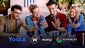 Largest YouTubers Management Company – Yoola Teams up with eHold to launch WeWay