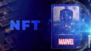 Marvel Launches Captain America-Themed NFT Collection