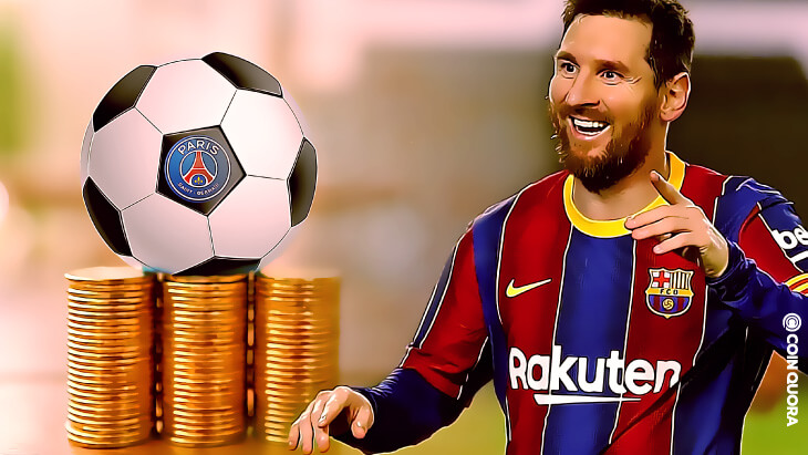 PSG Fan Token Surges Amid Messi's Exit From FC Barcelona