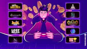 Play to Earn Blockchain Games – Top 10 Games to Earn Crypto While Playing