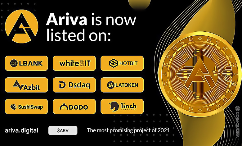 Ariva (ARV) is listed on eight new exchanges and more is on the way.