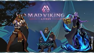 Mad Viking Games Deploys Its MVG Token on VeChainThor