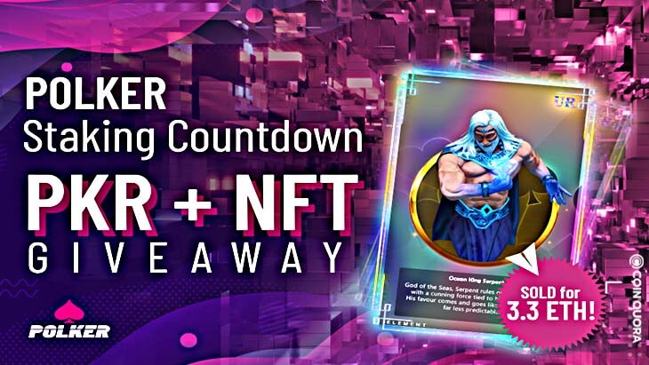 Massive NFT and Token Giveaway From Polker as Staking is Announced!