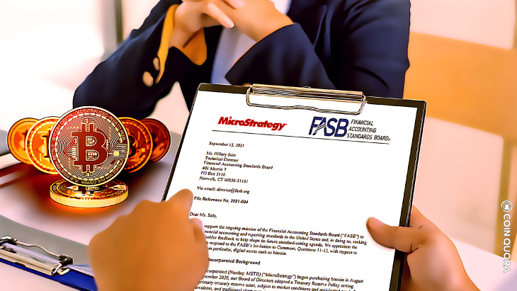 MicroStrategy Issues a Response to FASB's 2021 'Invitation to Comment'