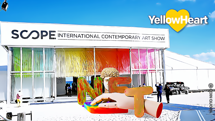 SCOPE Art Show Partners With YellowHeart to Sell VIP Tickets as NFTs