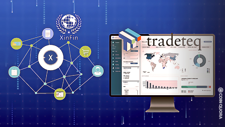 XinFin Partners With Tradeteq to Tokenize Trade Finance Into NFT