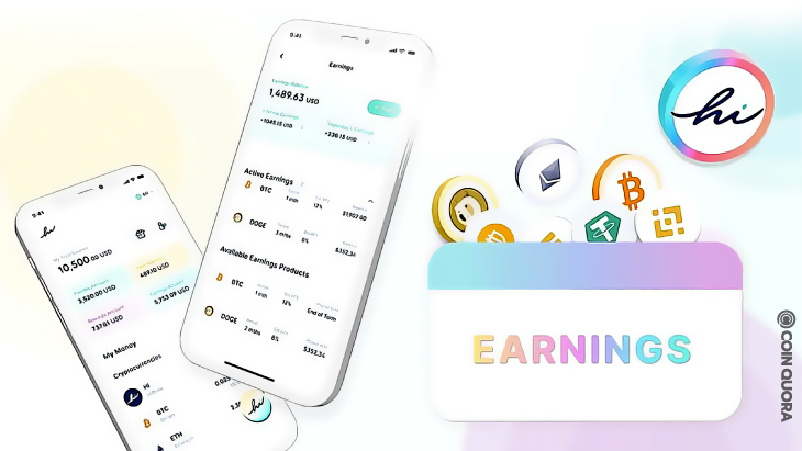 hi Introduces Earnings on Crypto Assets