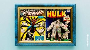 Iconic Marvel Cover Adaptations by Rob Prior of Stan Lee as Characters to Go on Blockchain Auction