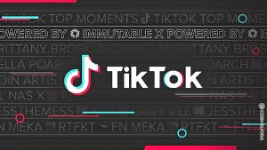 TikTok Launches Its First NFT Collection Called TikTok Top Moments