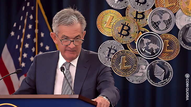 """US Jerome Powell Says He Has """"No Intention"""" to Ban Crypto"""